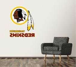 Washington Redskins Wall Decal Logo Football NFL Art Sticker