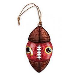 Washington Redskins Water Globe Fotball Ornament