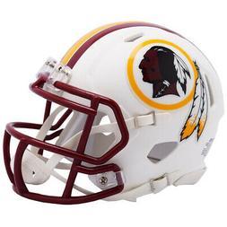 Washington Redskins White Matte Speed Mini Helmet New In Box