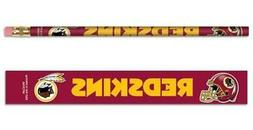 Washington Redskins Wooden Pencil 6 Pack  NFL School Write P